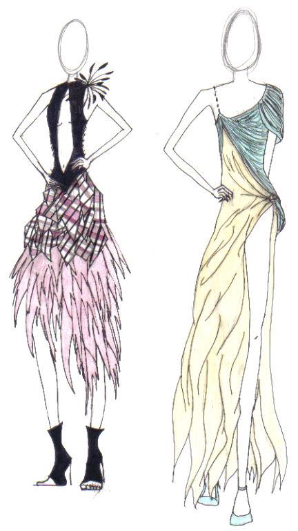 Fashion Sketch 1 By Tv Yellow On Deviantart
