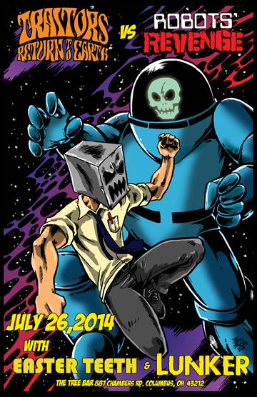 Traitors Return to Earth vs Robots' Revenge by DrSpilkus