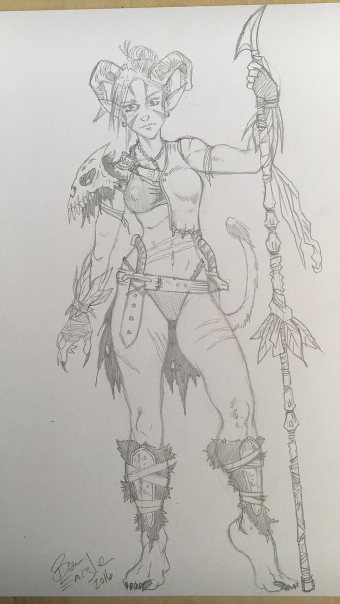 Character sketch  by DrSpilkus
