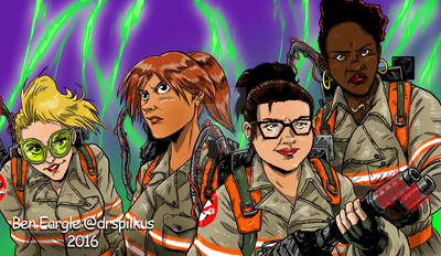 Ghostbusters new roster by DrSpilkus