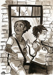 Ash and Jane by elleskinner