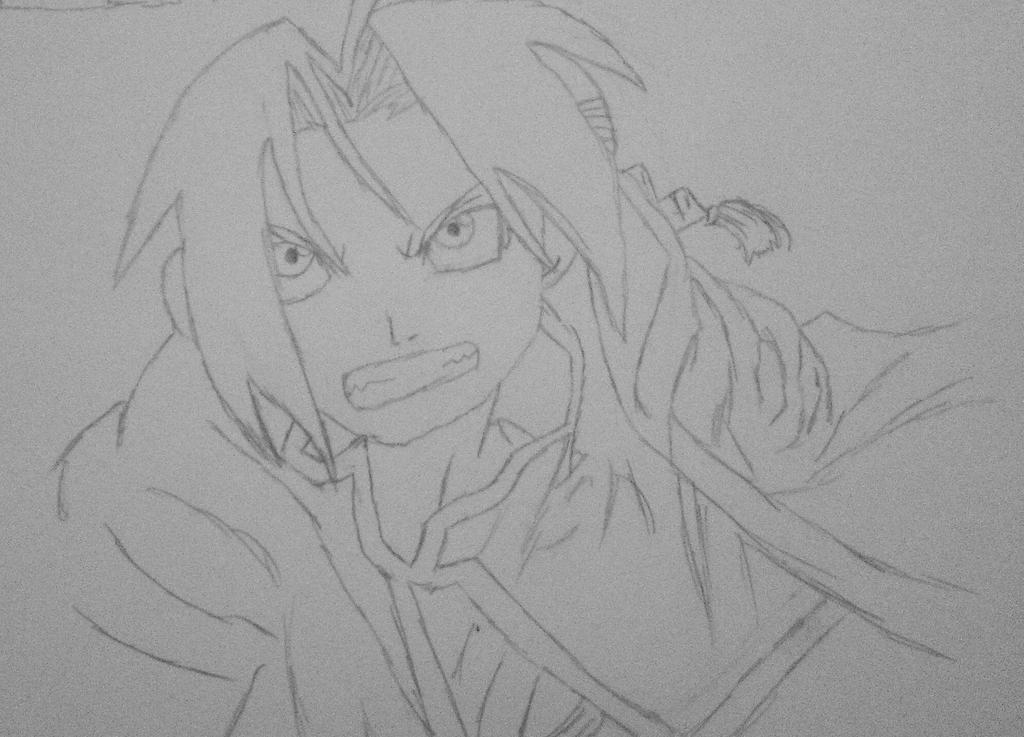 Fullmetal Alchemist: Edward Elric by CuteFang