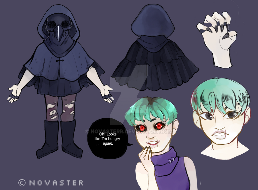 Chiisai Character Sheet by Novasterr