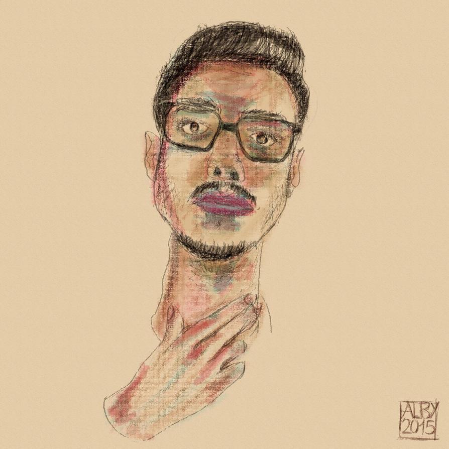 Self portrait 2015 by ev0luti0narysleeper