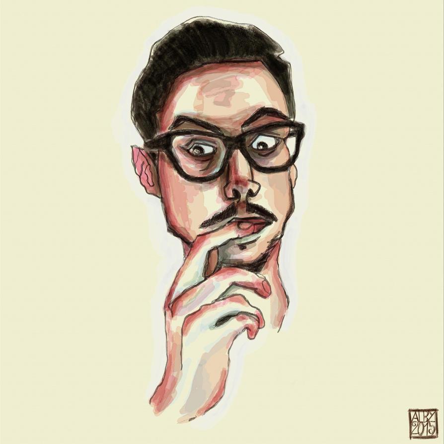 Self Portrait n.2 2015 by ev0luti0narysleeper