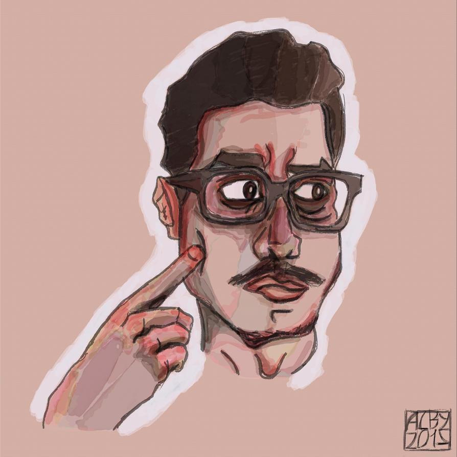 Self Portrait N.3 2015 by ev0luti0narysleeper