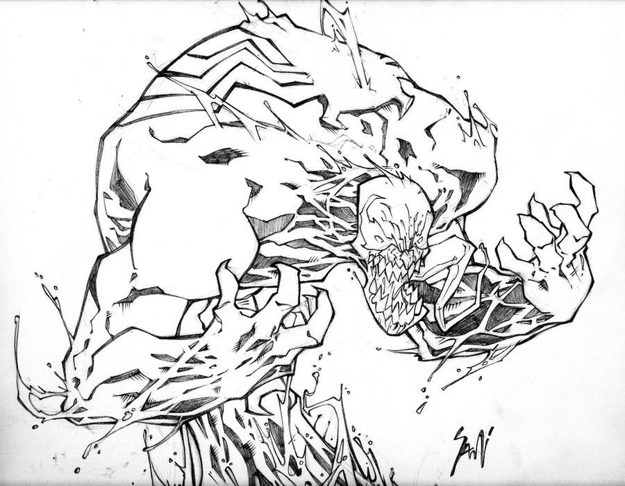 Venom Coloring Pages Lego Venom Spider Marvel Heroes: Venom Marvel Copirigths By Chavana On DeviantArt