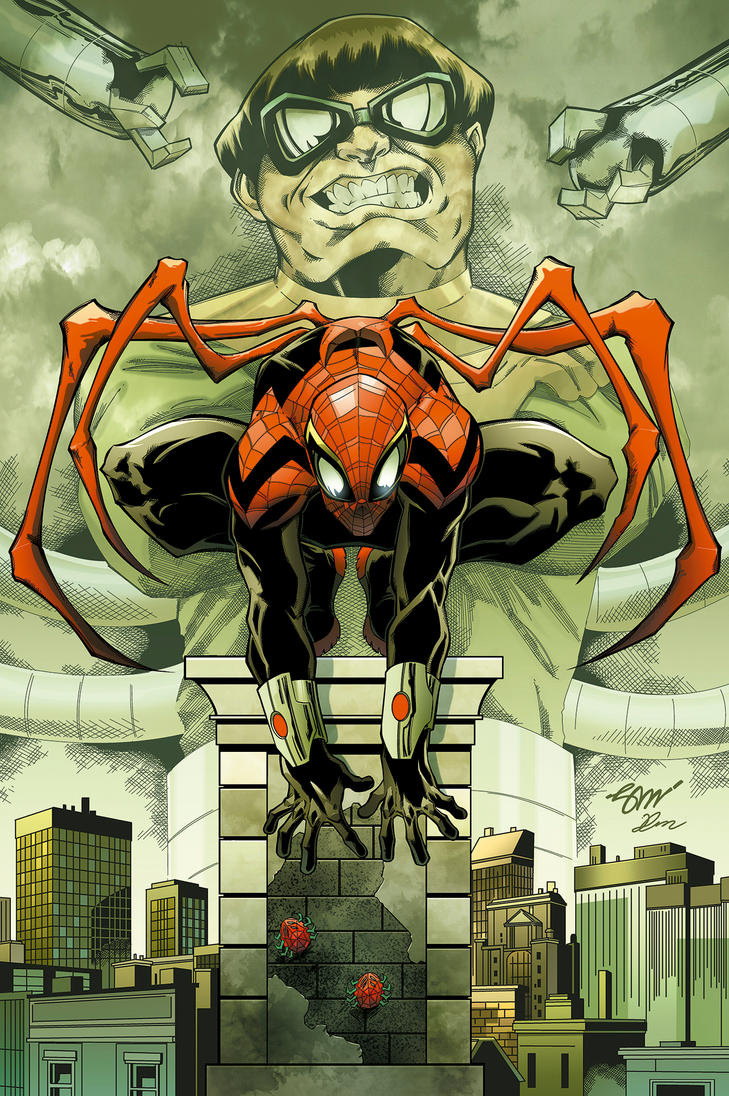 the superior spider-man COLORS by chavana