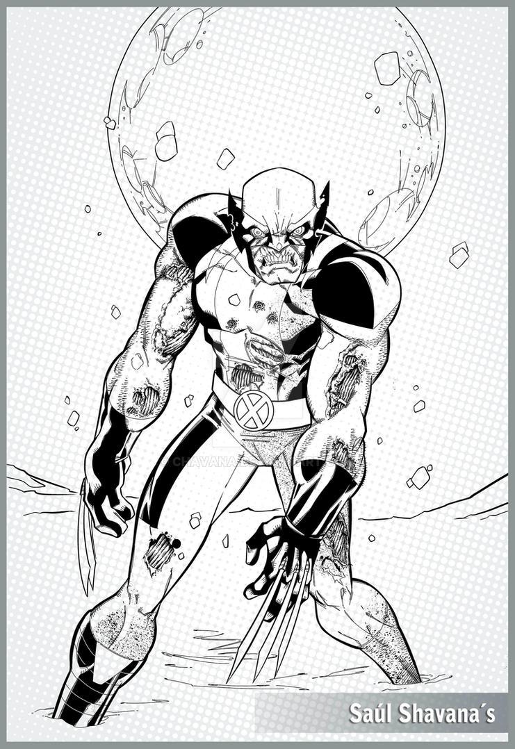 Wolverine Zombie by chavana