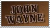 john wayne stamp by otakulottie