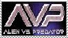 AVP stamp by otakulottie