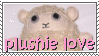 plushie love stamp by otakulottie