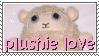 plushie love stamp by otakulottie