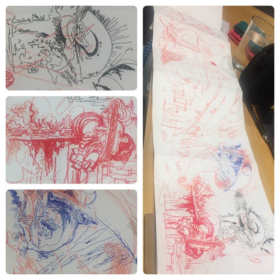 Automatic Drawings by cowtape