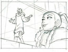 Avatar storyboard