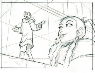Avatar storyboard by BobbyRubio