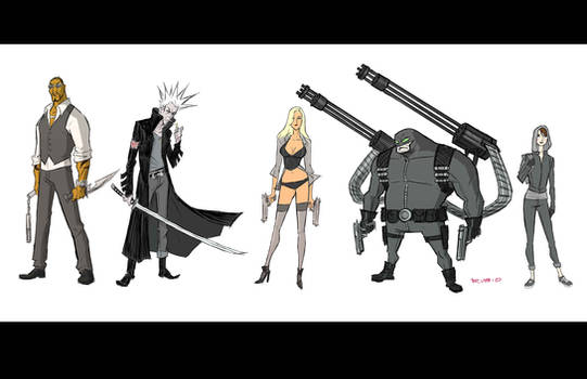 4 GUN CONCLUSION : Line up