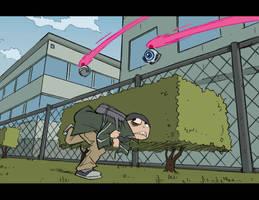 ALCATRAZ HIGH: dodging drones by BobbyRubio