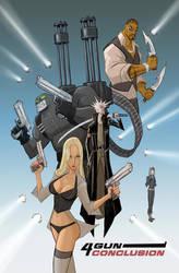 4 GUN CONCLUSION: cover art