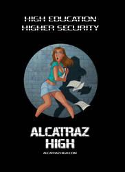 Alcatraz High promo poster by BobbyRubio