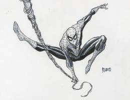 Spider-man commission by BobbyRubio