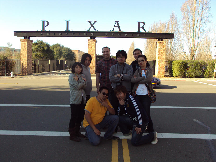 GAINAX at PIXAR by BobbyRubio