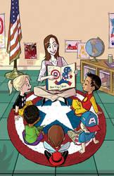 I am Captain America by BobbyRubio