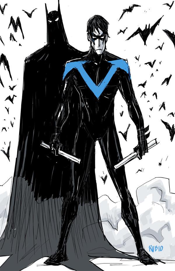 Dark Knight's Apprentice by BobbyRubio