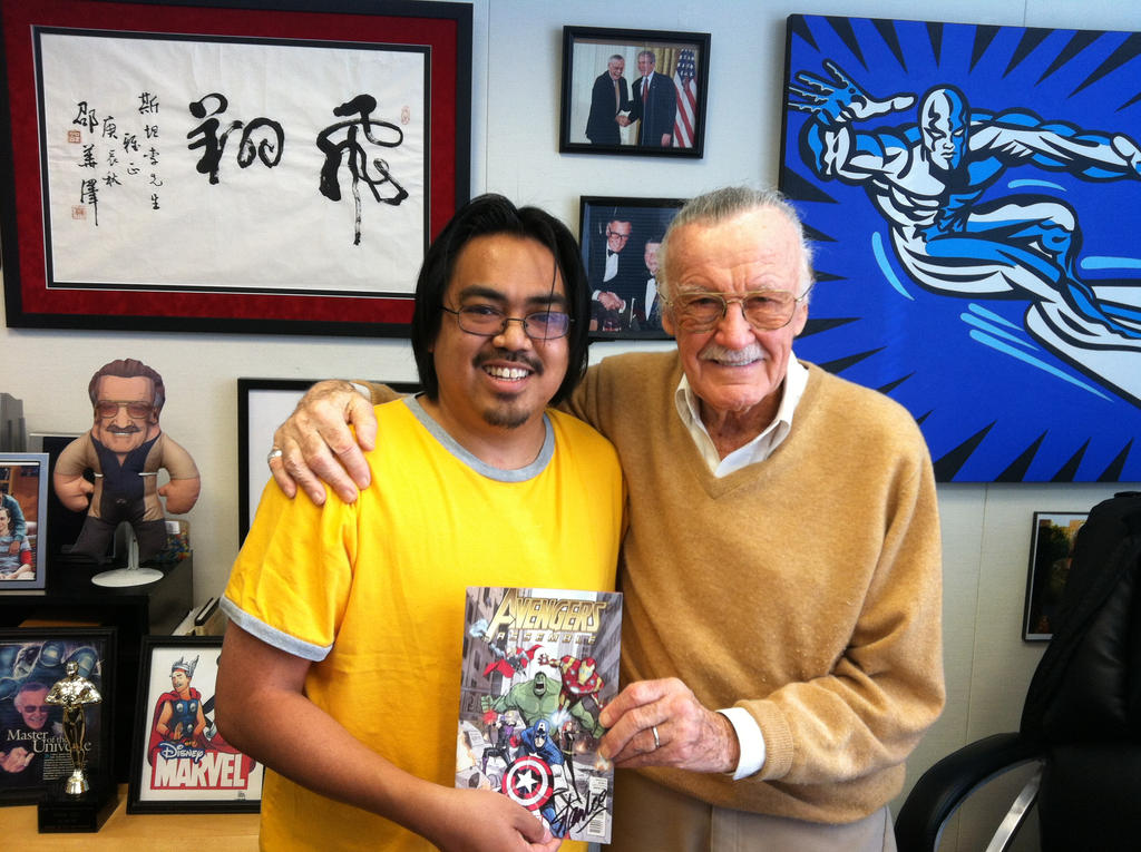 hanging out with Stan Lee by BobbyRubio