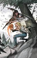Avengers Arena Variant Cover by BobbyRubio