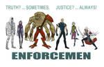 ENFORCEMEN lineup