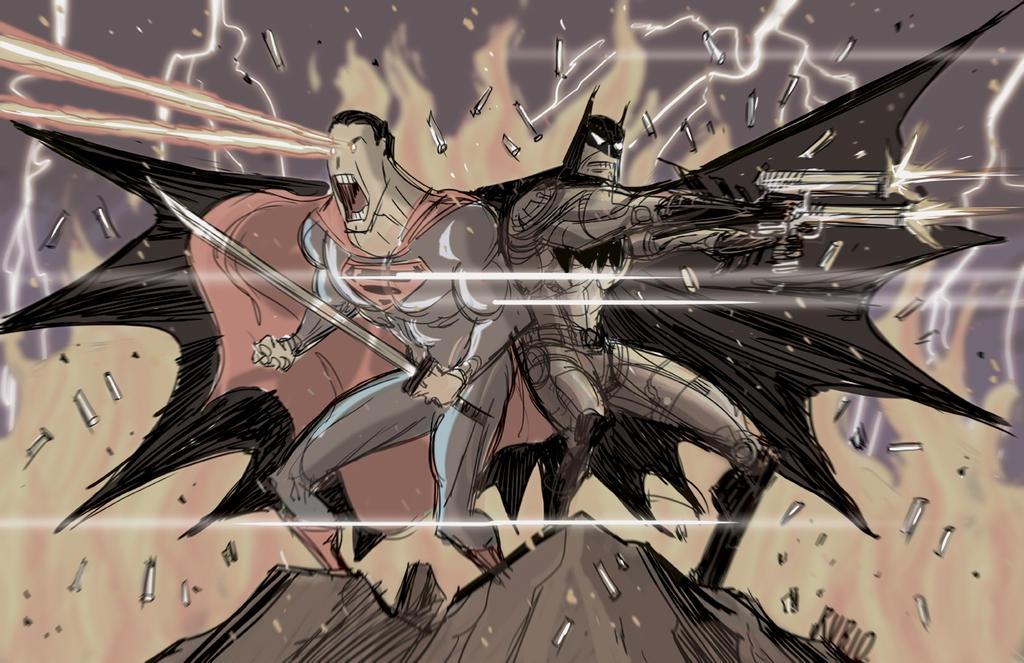 Superman/Batman by BobbyRubio