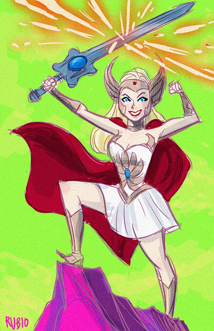 She-Ra Cosplayoffs drawing by BobbyRubio