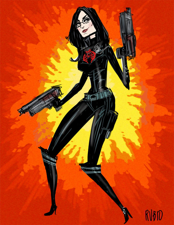 Baroness Cosplay Drawing by BobbyRubio