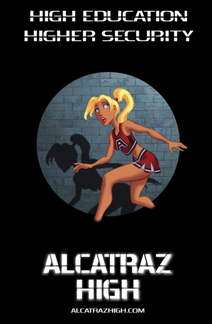 Alcatraz High Back Cover by BobbyRubio