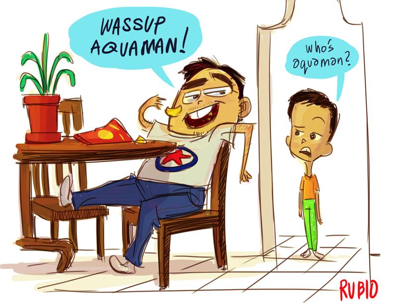 Wassup Aquaman! by BobbyRubio