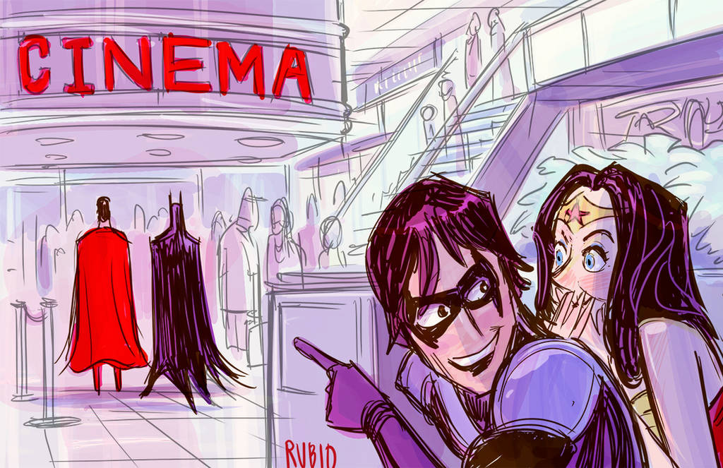 Shadowing the Bat... and Supes too by BobbyRubio