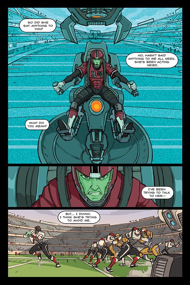 ALCATRAZ HIGH page 1 by BobbyRubio