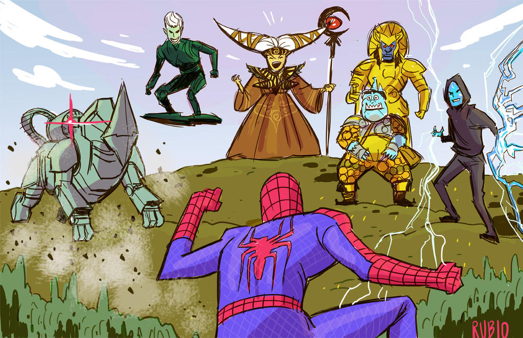 Sinister Six by BobbyRubio