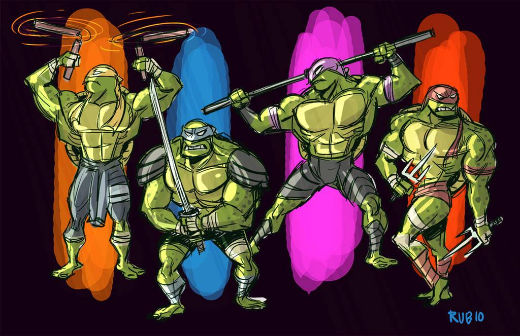 Teenage Mutant Ninja Turtles by BobbyRubio