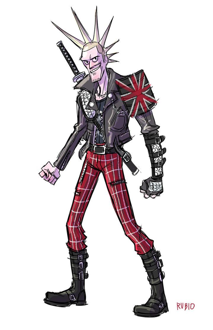 Guinness: Punk Rock Samurai by BobbyRubio