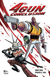 4 GUN CONCLUSION cover for SDCC