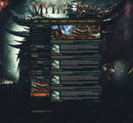 Mythic Lair ~ FusionCMS 6 (PSD) Template