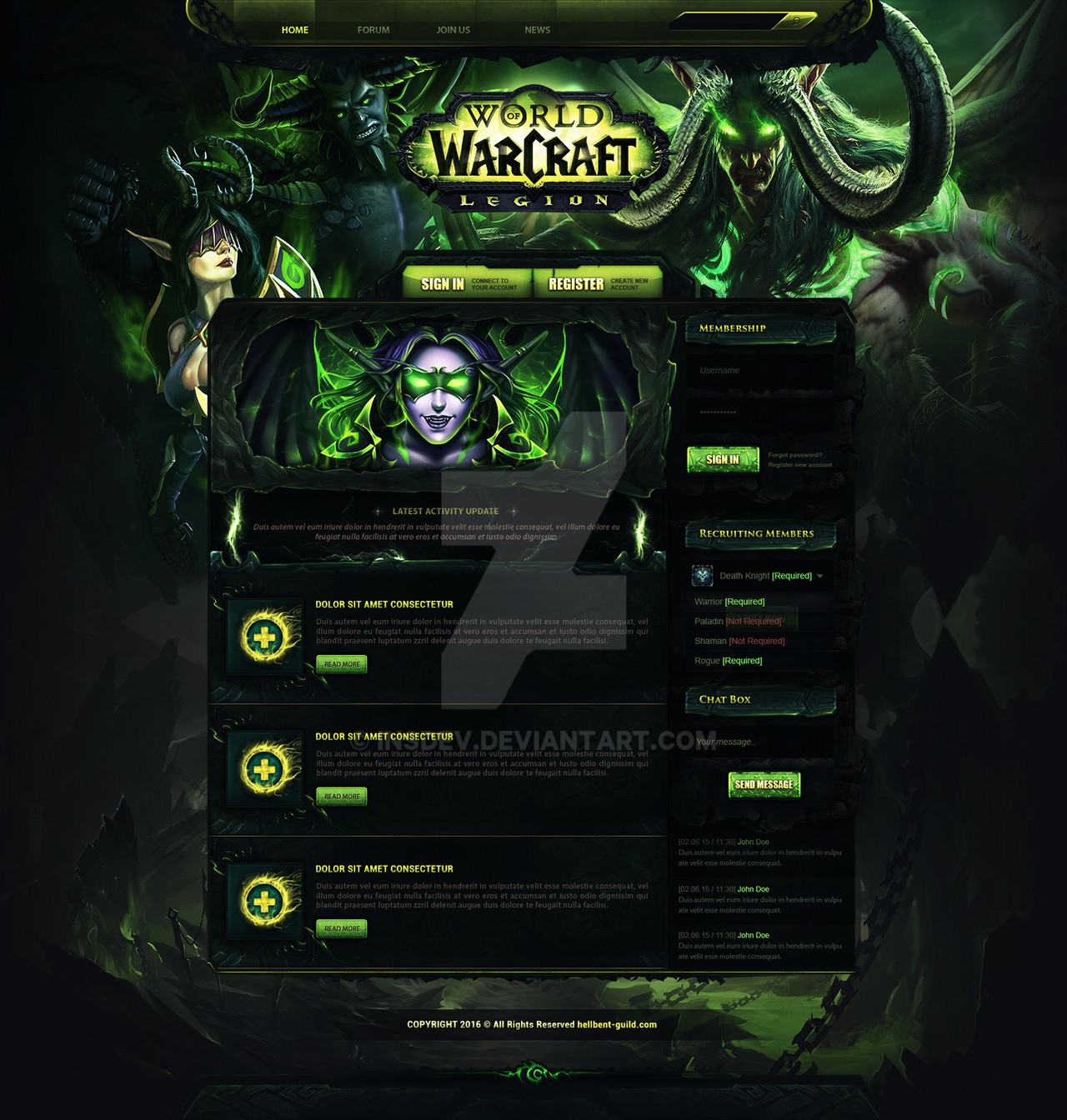 World of warcraft dating website
