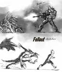 Fallout quick sketches