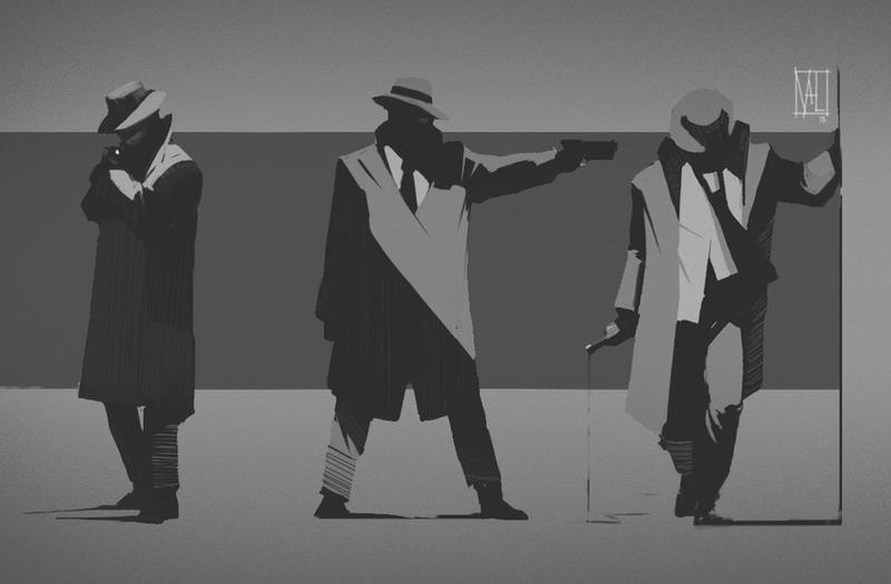 noir1 by BenedictWallace