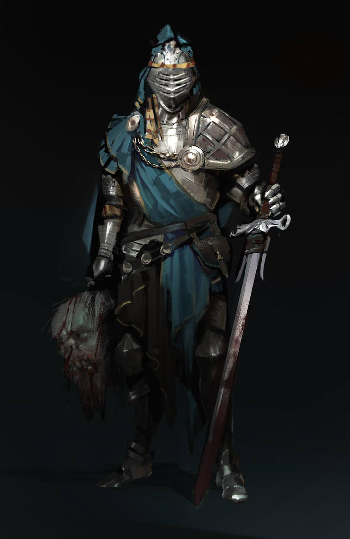 knight by BenedictWallace