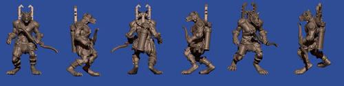 Werewolf Archer by disel91