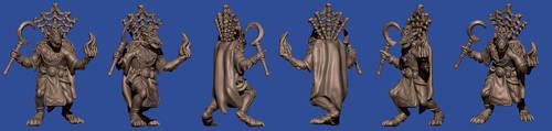 Werewolf Priest by disel91