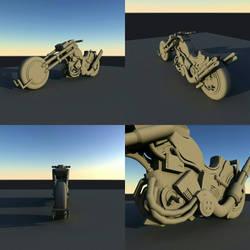 Re-rendered Bike by disel91